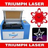 Mini tela del cortador 500*300m m del laser/precio &Engraving de acrílico/del papel/de la madera contrachapada del laser del corte de la máquina