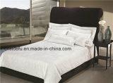 Het Blad van het Bed van de Jacquard van het Hotel van de hoog-ster, het Geval van het Hoofdkussen, de Reeks van het Beddegoed van de Dekking van het Dekbed