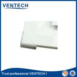 Diffuseur carré de plafond d'air de voie de l'aluminium 4 pour la CAHT