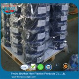 Blauer transparenter glatter Belüftung-Streifen-Standardvorhang Rolls