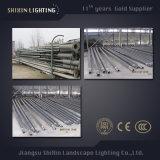 Quadrat galvanisierte Beleuchtung Pole