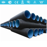 Tubi ondulati doppi dell'HDPE per drenaggio
