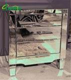 A caixa espelhada de 3 gavetas/espelhou a tabela de cabeceira de 3 gavetas/Nightstand