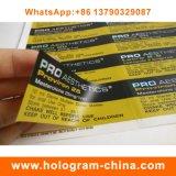 Etiquetas plásticas da impressão para o tubo de ensaio da injeção 10ml Using