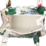 طباعة [رترو] خاصّ بالأزهار مسيكة [بفك] [توت بغ] حقيبة يد ([ت001])