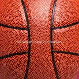 Baloncesto de cuero superior de la PU de Japón de la mejor calidad