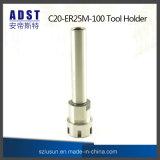 CNC 아버 C20-Er25m-100 공구 홀더 CNC 기계 똑바른 정강이 물림쇠