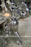 L'acciaio inossidabile Popeye, lavoro in metallo, può essere placcato. Produzione professionale della coltura della scultura del giardino dei prodotti metalliferi e della scultura di arte. Può essere personalizzata