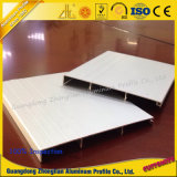 Profil en aluminium d'aluminium de panneau de bordage de profil de meubles