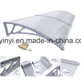 Écran en plastique de porte de polycarbonate extérieur, tente de guichet d'ombre de Sun (YY800-C)