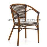 Cadeira de alumínio da câmara de ar do jardim com pé 4 para ao ar livre (SP-OC369)