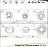 양극 산화 알루미늄 단면도 열 싱크 또는 알루미늄 합금
