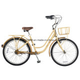 Bicyclette d'entraînement d'arbre de fleur fraîche de vélo de ville de femmes