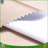 Tela revestida impermeable tejida poliester de la cortina del apagón del franco de la tela de la materia textil para la cortina confeccionada de la ventana
