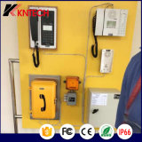 Téléphone lourd extérieur imperméable à l'eau Emergency du téléphone Knsp-01 Kntech