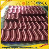 Perfil de aluminio con talla modificada para requisitos particulares de proceso profunda y colores del CNC