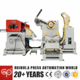 Автомат питания листа катушки с пользой раскручивателя в изготовлениях бытовых приборов и прессформе автомобиля