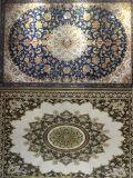 Goldener Polierkünstler-keramischer Kristallteppich-liebevoller Raum-Fußboden und Wand