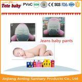 Le bébé confortable de couche-culotte respirable de bébé halète la couche-culotte, pantalon de formation de bébé