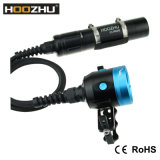 Hoozhu Hv33 4カラー軽い小さなかんの水中写真ライト最大4000lm水中120m LED懐中電燈