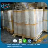 PVC винила эластичного пластика качества достигаемости супер ясный померанцовый покрывает дверь