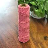 3ply gefärbtes Jutefaser-Faser-Garn (Rosa)