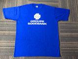 Le T-shirt 100% des hommes bon marché des prix de coton avec le logo