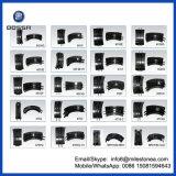 De auto Remschoen van Vervangstukken Voor Aanhangwagen 203mm van de Vrachtwagen Scania