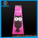 O animal de estimação do recipiente plástico do PVC veste o saco do pacote