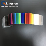 Gegoten Gekleurde kleur-Doorzichtige AcrylPlaat