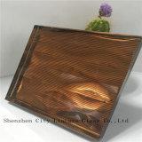 10mm + seda + 5 mm Espejo Vidrio Laminado / artesanía de cristal / vidrio templado / vidrio de seguridad para la decoración