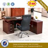 Meubles de bureau modernes L bureau exécutif de mélamine de forme (HX-6M267)