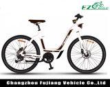 с велосипедом женщины мотора эпицентра деятельности 36V 250With500W электрическим