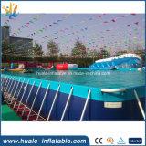 Подгонянные бассеины воды заплывания прямоугольного бассеина рамки металла стальные пластичные