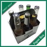 Коробка пива вина стеклянной бутылки Packaigng грузя