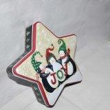 Neue Form-Zinn-Plätzchen Kasten, Zinn-Schokoladen-Zinn-Kasten mit konkurrenzfähigem Preis