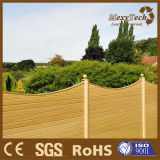 Cercado de madera compuesto al aire libre modificado para requisitos particulares del jardín WPC del diseño