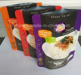 De Tribune van de Verpakking van het voedsel op Zak met het Zilveren Achter en Glanzende Venster van de Steen