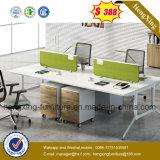 최신 인기 상품 사무용 가구 4 시트 워크 스테이션 사무실 칸막이벽