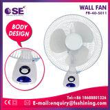16 de Ventilator van de Muur van de Ventilator van de Prijs van de Consumptie van de Macht van de Motor van het Koper van de duim