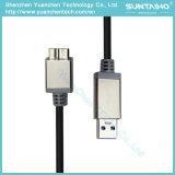 USB un maschio al micro cavo maschio del USB con le coperture del metallo per il calcolatore