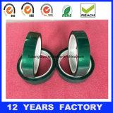 Cinta adhesiva del animal doméstico verde resistente del silicón de la temperatura del aislante