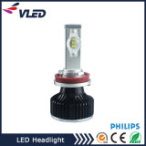 LED Auto Light / Car Front LED Light / DC12V Car LED Headlight, H11 H8 H9 H16 com lente de projetor