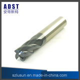 Tungsten Steel Ball Nose End Mill Carbure de tungstène pour tour