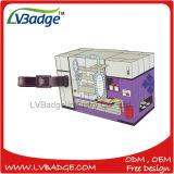 Изготовленный на заказ мягкая бирка перемещения багажа PVC