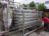Tubo tubolare dello sterilizzatore del purè a più strati della frutta nello sterilizzatore della polpa della frutta del tubo/pastorizzatore dell'alberino per l'ostruzione della frutta