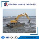 Estensione di scavatura massima dell'escavatore anfibio: 8.5 Tester e un pontone delle 2 catene