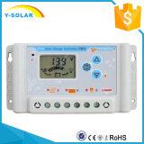 LCD 디스플레이와 USB SL03-20A를 가진 태양계를 위한 12V 24V 20A 태양 전지 규칙