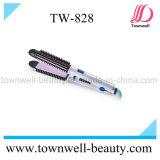 3 en 1 enderezadora del pelo y bigudí y cepillo