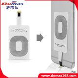 Piccola ricevente induttiva senza fili portatile del piatto del caricatore del Qi del telefono mobile per il iPhone